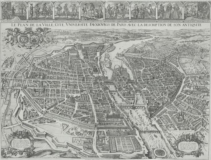 Plan de Tavernier - Pari 1630