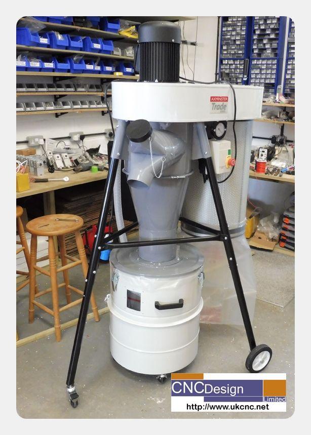 New Vac for 8x4 CNc Machine