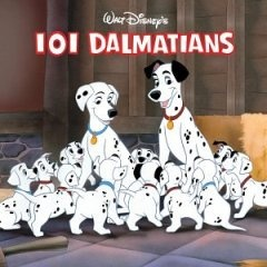 101 Dalmatians -- Disney movie  Have to spend time reliving these wonderful family films!