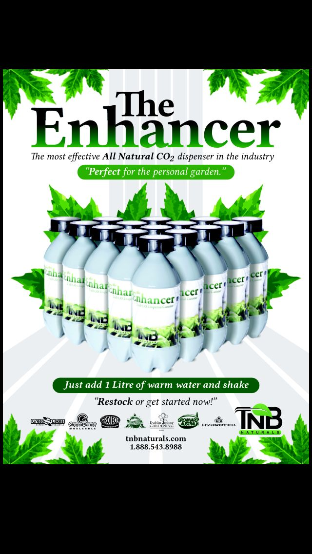 Please keep in mind the CO2 Enhancer is the strongest CO2 on the market. So please use it safely!