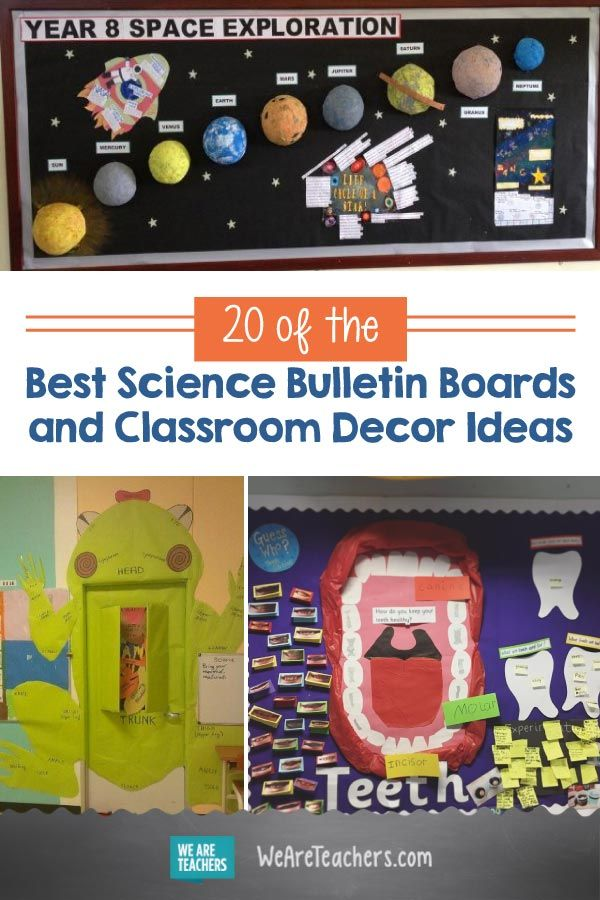 20 Of The Best Science Bulletin Boards And Classroom Decor Ideas Science Classroom Decorations Science Bulletin Boards Middle School Science Classroom
