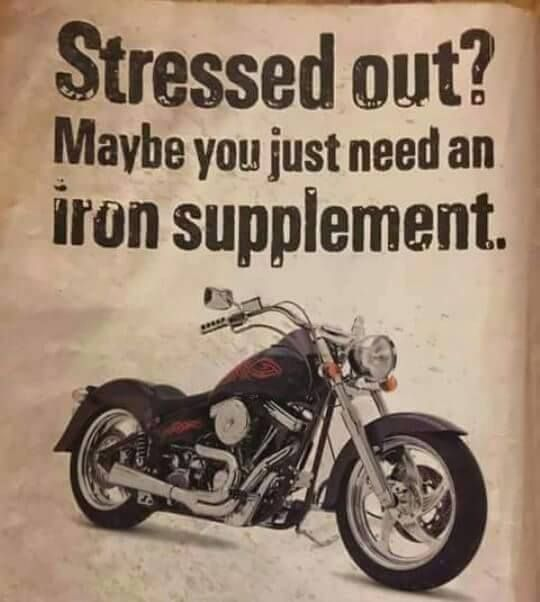 Can't wait until I have my very own iron supplement!