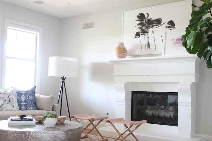 Today, I'm excited to share the full reveal of the Talega South Project family room. I really enjoyed designing this inviting and livable space, for a wonderful family of six. My vision was to create a stylish space with a modern coastal vibe, without sacrificing comfort. Take a peek into this modern coastal family room.