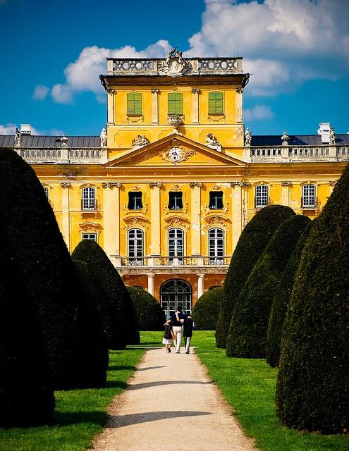 Esterhazy Palace, Fertod, Hungary.