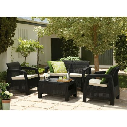 Montana sofa set at homebase be inspired and make for Outdoor furniture homebase