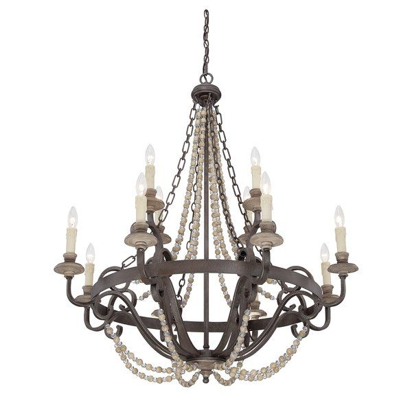 12 Light Candle Style Chandelier Candle Style Chandelier Farmhouse Chandelier Candle Styling