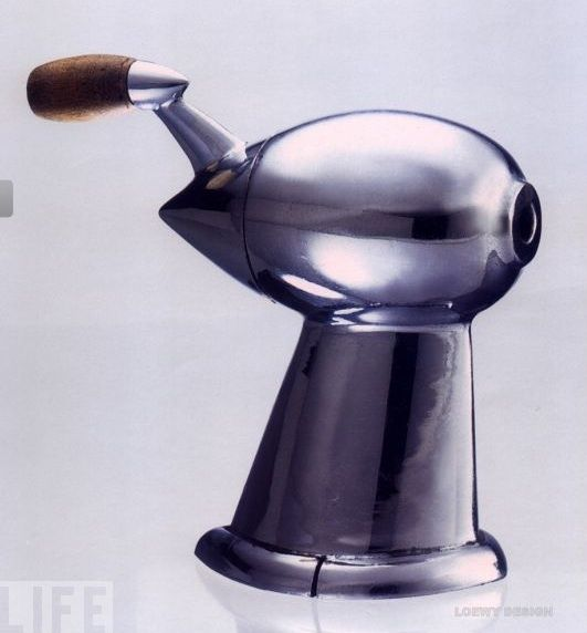 Raymond Loewy, pencil sharpener, 1933.