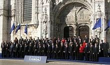 In 1957 Italy was among the EEC's six founding members. The country signed the Lisbon Treaty in 2007.