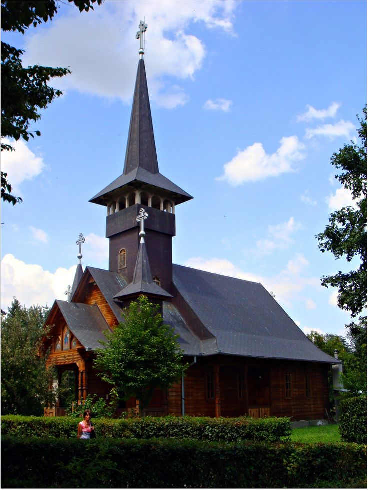 Orthodox church in Felix Resort, Oradea, Romania Wooden church | Flickr - Photo Sharing!