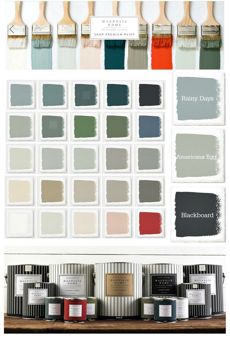 Joanna Gaines from Fixer Upper fame and Kilz Paint just launched Magnolia Home Paint that is a stunning collection of beautiful interior home paint colors.