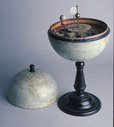a spanish toy globe from 1907