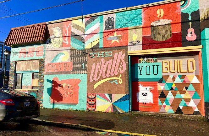 The Best Portland Wall Murals Street Art More Than Main Street Murals Street Art Street Art Installation Street Art