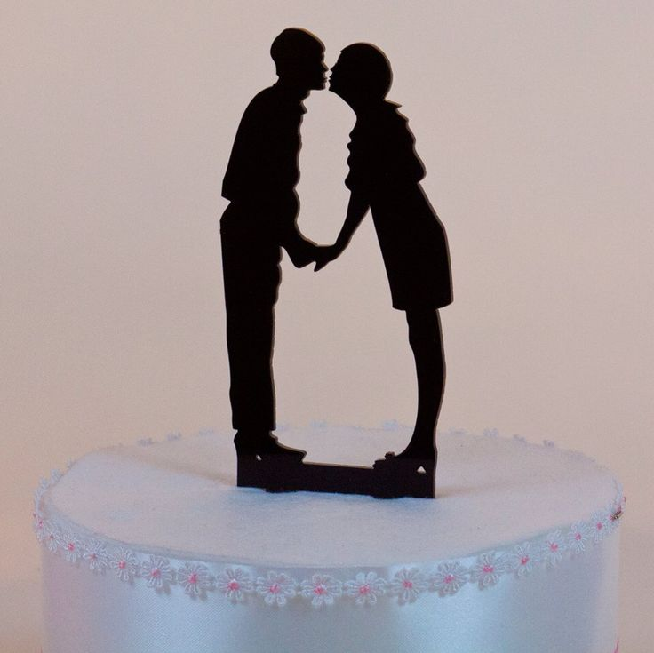 silhouette cake topper 82 best images about custom cake topper silhouettes on 7369