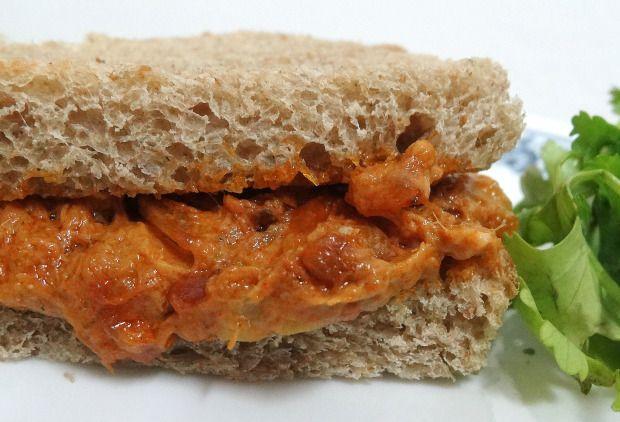 Spicy Tandoori-Style Tuna Sandwich