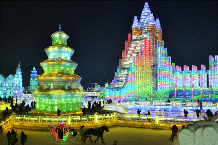 Globemad How to get to Harbin Ice Festival China by local bus by taxi, how to get to snow and ice world and how much all the ticket prices cost