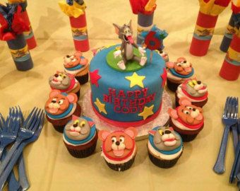 tom and jerry fondant cutter tom and jerry by cookiecuttercraft