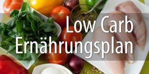 Low Carb Ernährungsplan – Smart ernähren & einfach abnehmen