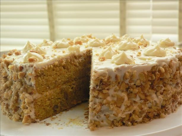 Gigi s Carrot Cake by Emeril Lagasse from Food.com: I swear by this recipe. It is my GO TO carrot cake.