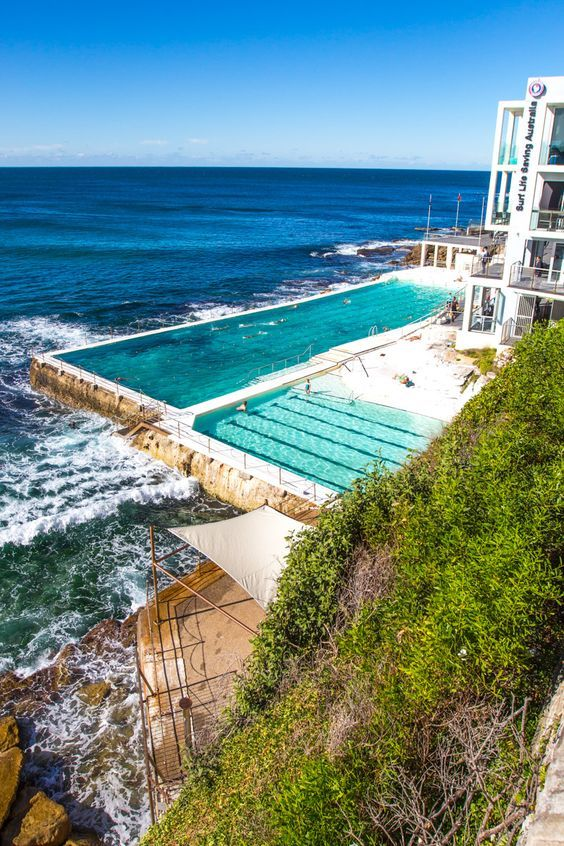 Visit Bondi Beach in Sydney and do the Bondi to Bronte coastal walk. Check out this 3 week itinerary for Australia!