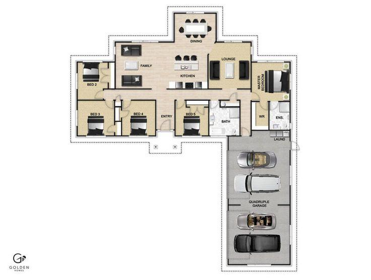 Cherokee Floorplan #GoldenHomes
