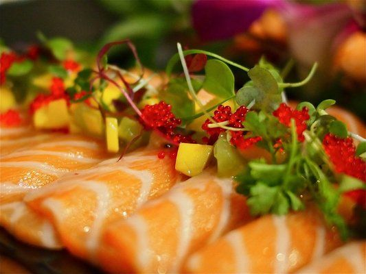 Salmon Sashimi...another Yumm