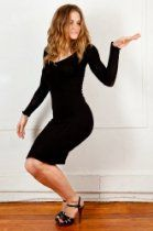 KD dance Sexy Knee High Sweater Dress, Elegant & Healthy, Modest & Sophisticated, Fashion Versatile, Made in New York City USA, Stretch Knit, Great with Thigh High Boots, Heels or Leggings