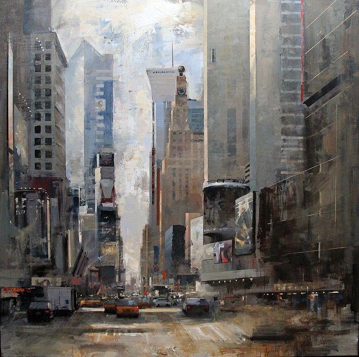Ricardo Galán Urréjola - Times Square, 2014