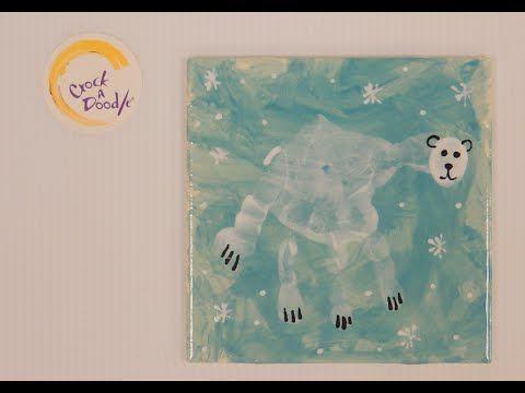 Crock A Doodle Pottery Painting Technique Polar Bear Hand Print - YouTube www.crockadoodle.com
