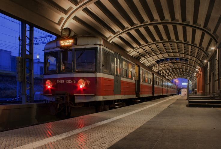 Dworzec letni/ Summer train station