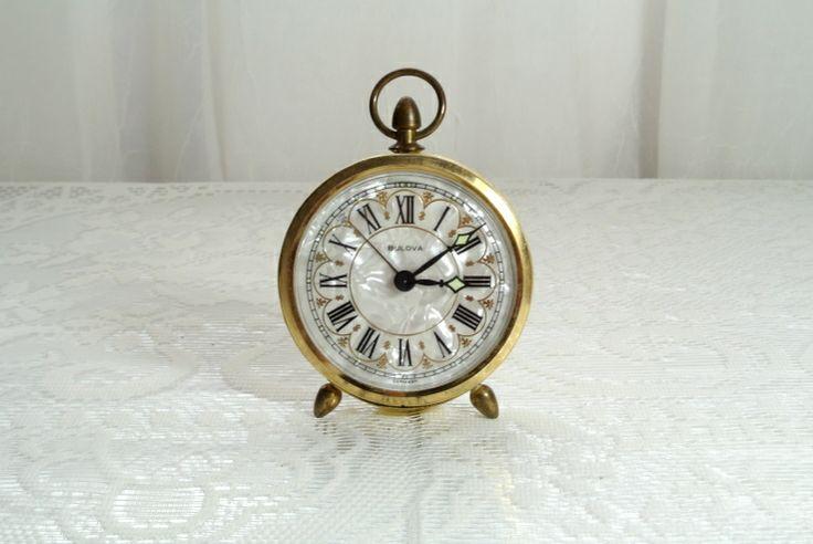 Vintage Bulova alarm clock marked Germany http://computer-s.com/alarm-clocks/extra-loud-alarm-clock-4-best-alarm-clocks-for-heavy-sleepers/
