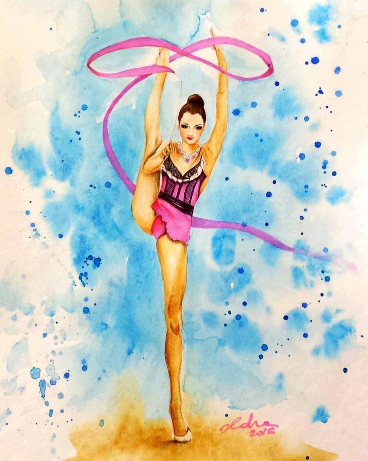 отличной картинки рисунки гимнастки преимуществам является работоспособность