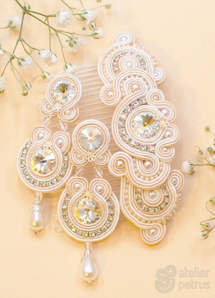 JASMINE - soutache wedding jewelry