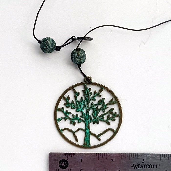 Sterling Silver Tree of Life Pendant Spiritual Bohemian Necklace Boho Jewellery