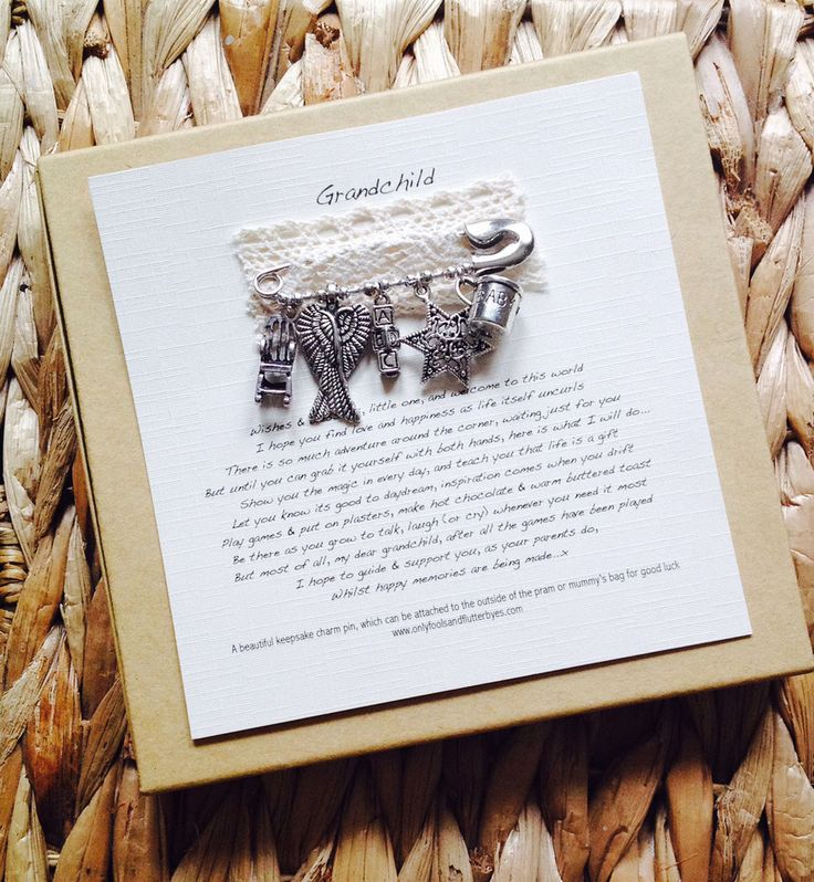 Unique Gifts Family Part - 47: Grandchild Keepsake (for Soppy Families, Only)...a Truly Unique Gift