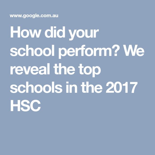 How did your school perform? We reveal the top schools in the 2017 HSC