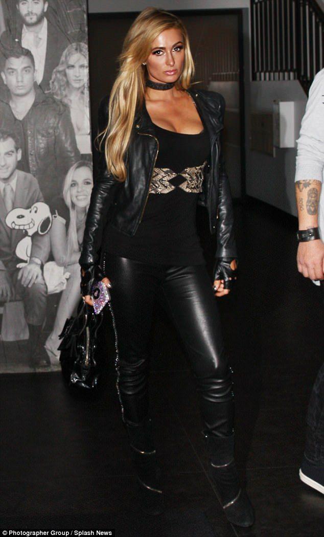 Paris Hilton flaunts buxom bust for date night with beau Chris Zylka