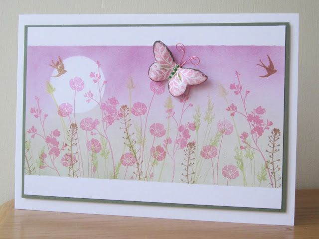 Beautiful Pan Pastel background by Brenda at Floral Fantasies