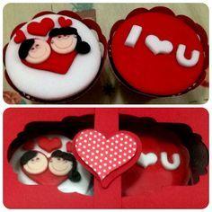 cupcake dia dos namorados - Pesquisa Google