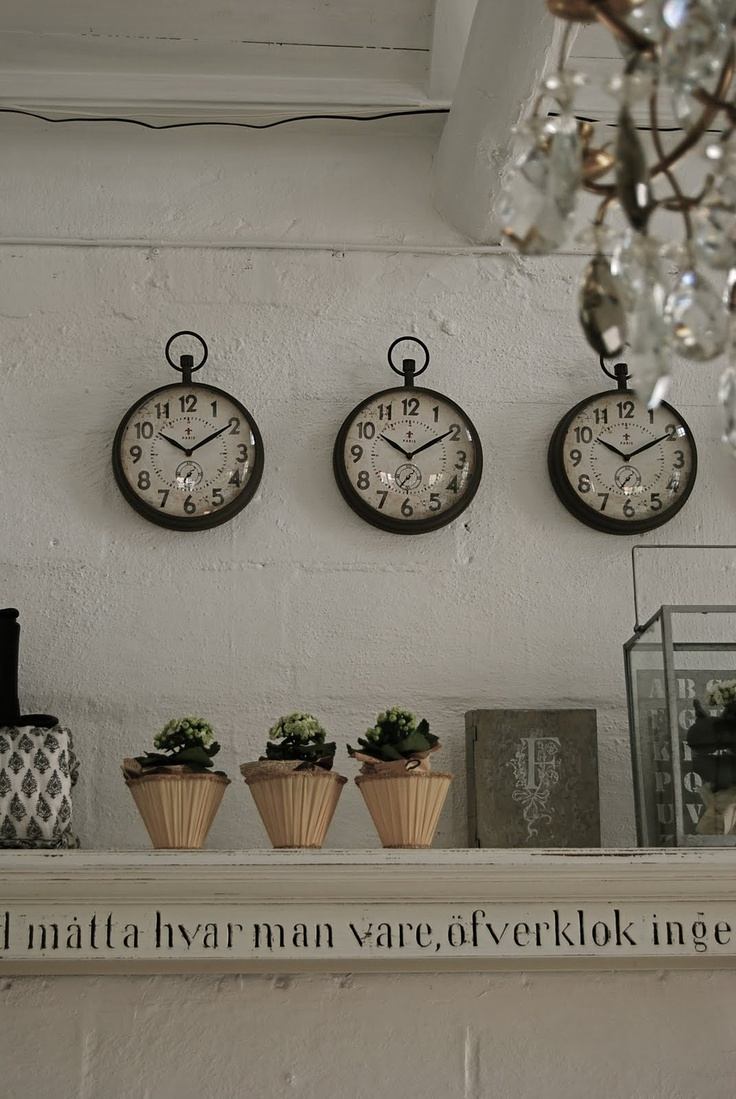 Clocks could each be labeled central time, eastern time, and take the battery out of one and call it lake time.