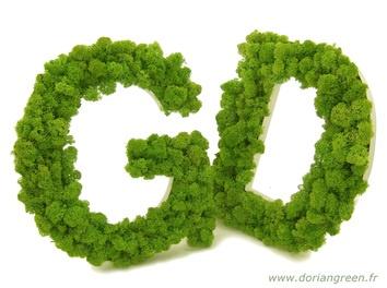 Lettres végétales  Dorian Green
