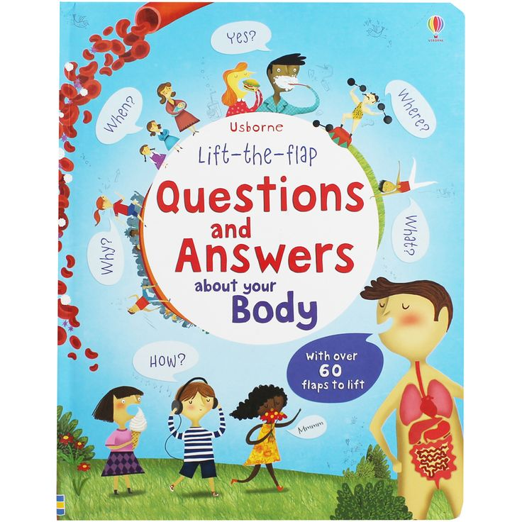 Questions and Answers About Your Body - Lift The Flap by Katie Daynes | Children's Science and Nature Books at The Works
