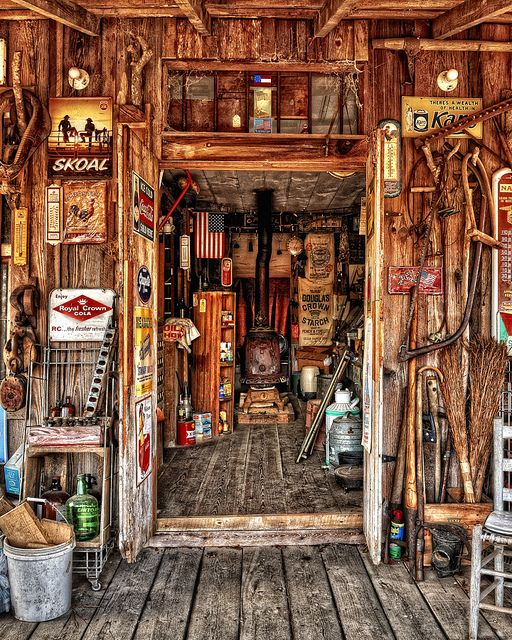 General Store Interior by ricklewisphotography, via Flickr
