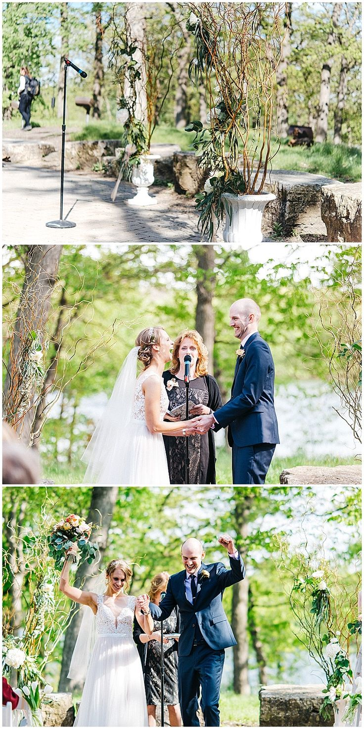outdoor wedding venues minneapolis%0A Outdoor wedding ceremony at Silverwood Park in St  Anthony  MN  Wedding  floral designed by Saint Paul wedding florist Artemisia Studios  Photos by  u