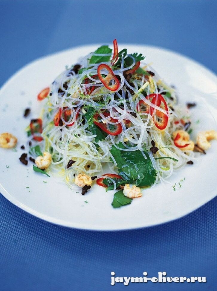 Азиатский салат из лапши
