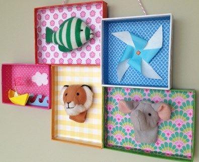 manualidades con caja de zapatos para decorar, DIY, manualidades para niños