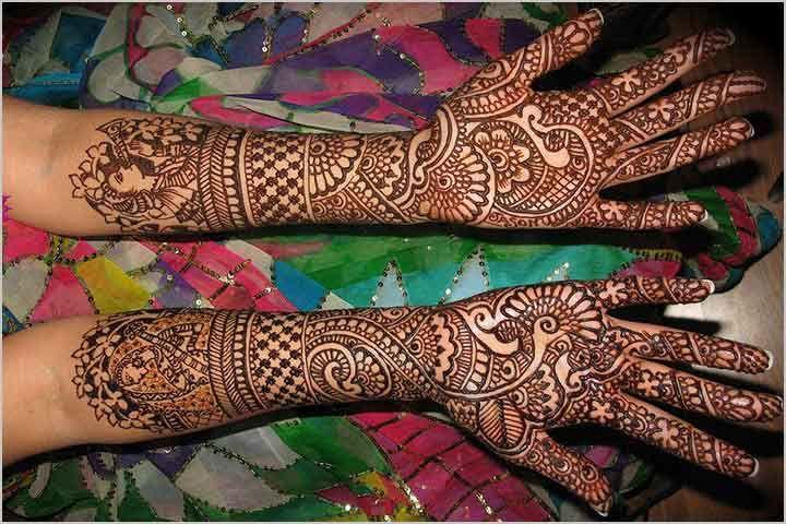 Dulhan Mehndi Design - Intricate
