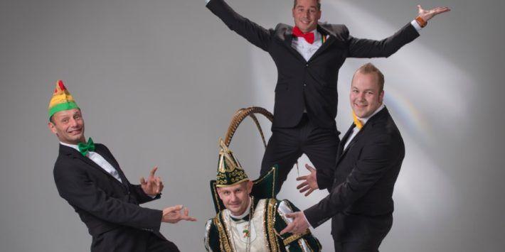 Prins Roy de Eerste en Jeugdprins Prins Lars regeren dit vastelaoves jaar 2017 over het rijk van v.v. de Tuinhagedisse in Leeuwen