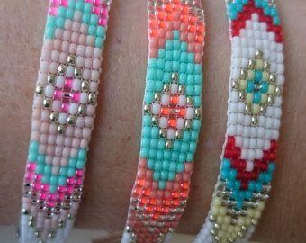 Loom beaded bracelet / Beaded bracelet made with by Suusjabeads