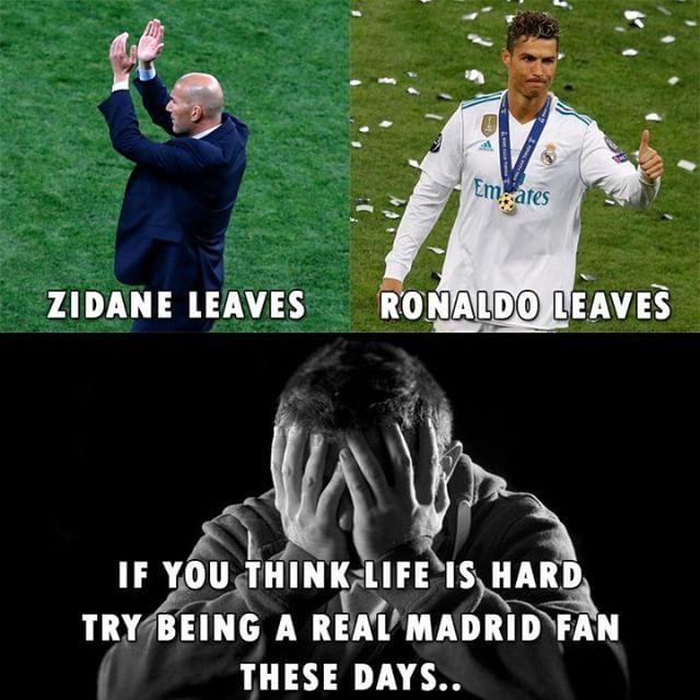 Real Madrid Fans Real Madrid Football Memes Real Madrid Soccer