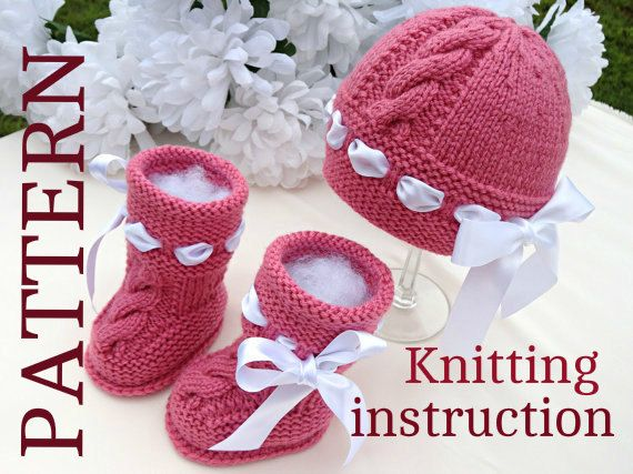 Baby Knitted P A T T E R N Baby Set Knitting Baby by Solnishko43, $10.00